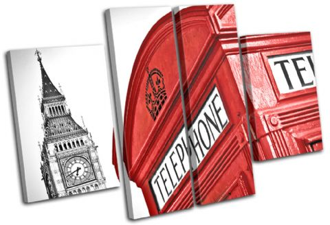 London Telephone Box Landmarks - 13-1267(00B)-MP17-LO